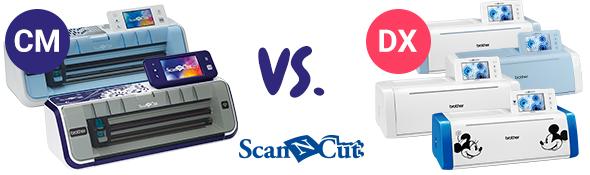 Finden Sie weitere Informationen zu den individuellen ScanNCut Geräten und welches am besten zu Ihnen passt.