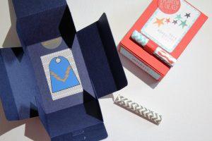 Geschenkbox - Zusammenbau