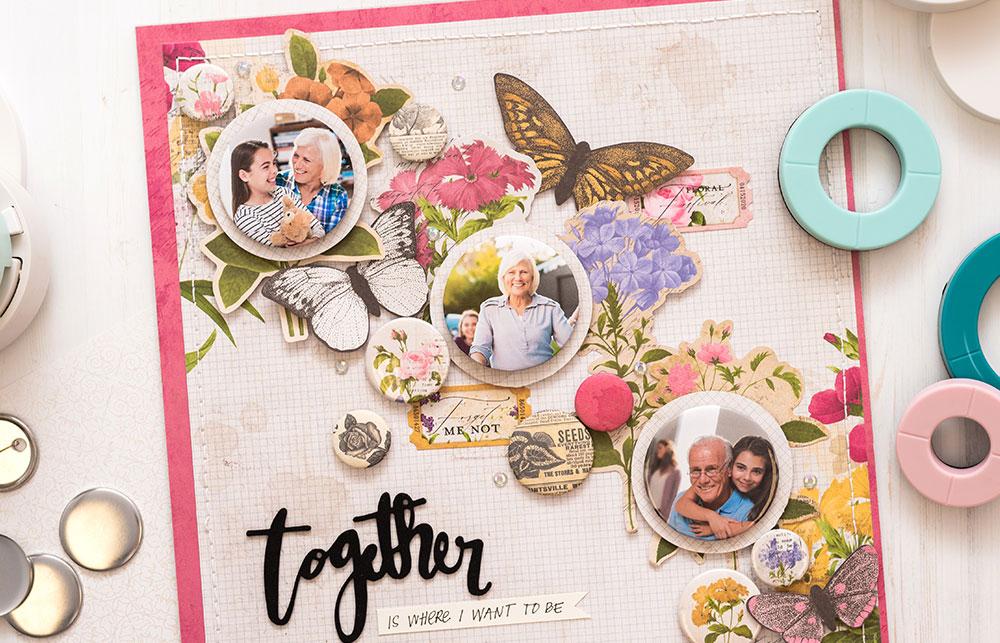 Mithilfe von selbst designten Buttons mit der Button Presse können Sie Ihre Erinnerungen und Fotos super leicht bei sich tragen.
