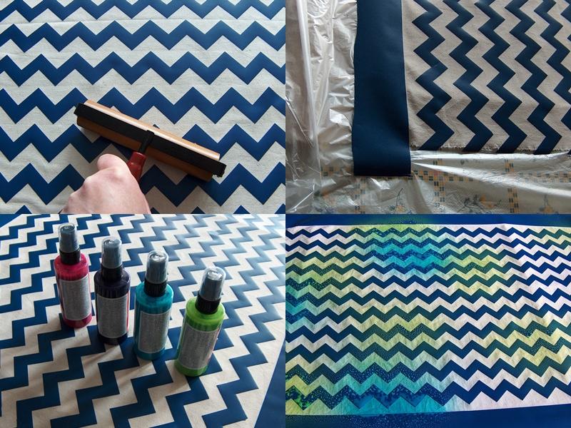 zick zack stoff selbst gestalten mit der silhouette cameo. Black Bedroom Furniture Sets. Home Design Ideas