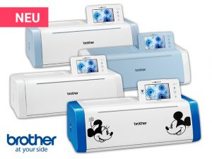 Die ScanNCut DX Hobbyplotter von Brother: DX1000, DX1200, DX1500 & DX2200D.