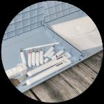 Viel Stauraum für Ihre Werkzeuge – in der ScanNCut DX-Serie können Sie Ihre Werkzeuge unterbringen