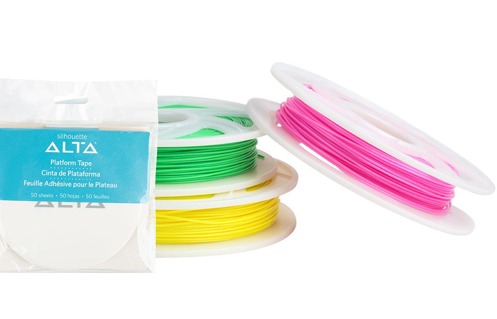 Lassen Sie Ihre 3D Modelle mit buntem Filament ausdrucken.