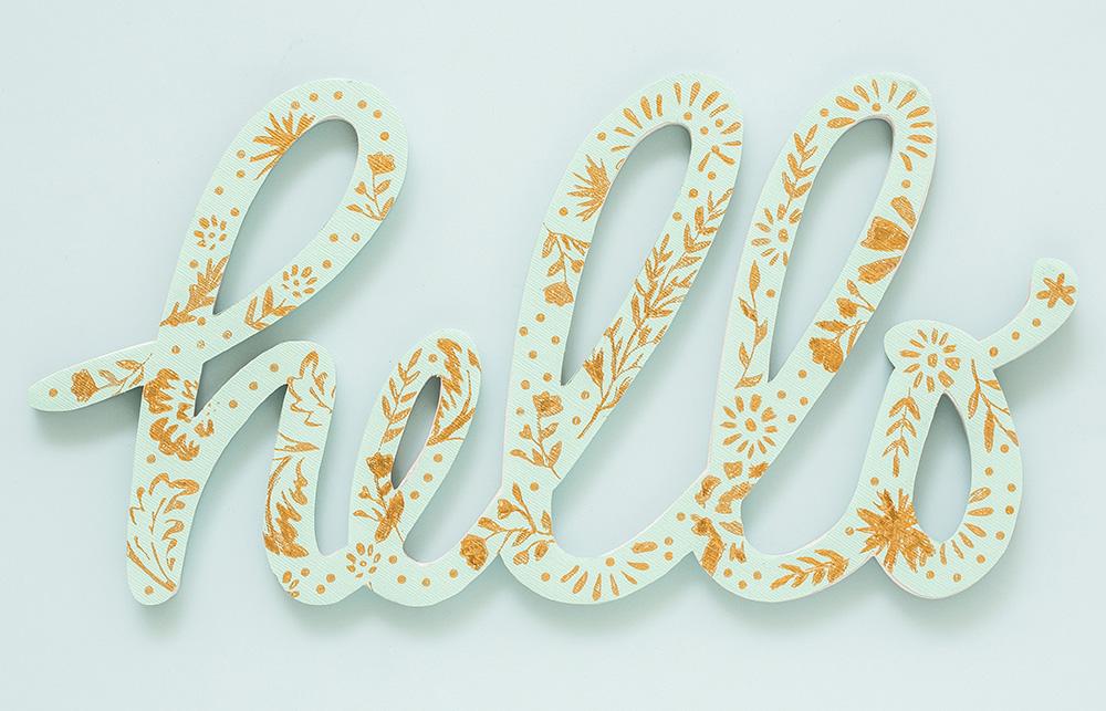 Dekorieren Sie verschiedene Überflächen mit Foil Quill. Selbst gezeichnete Designs hauchen noch mehr Leben in Ihre Arbeiten.