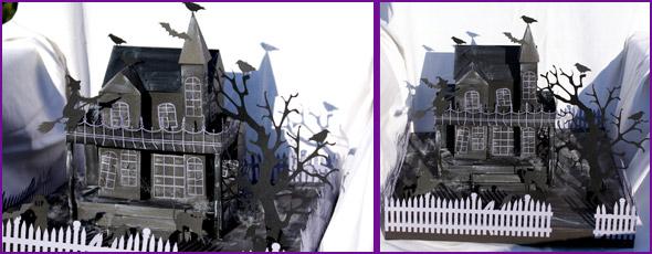 Geisterhaus zu Halloween