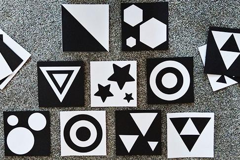 Formen aufkleben