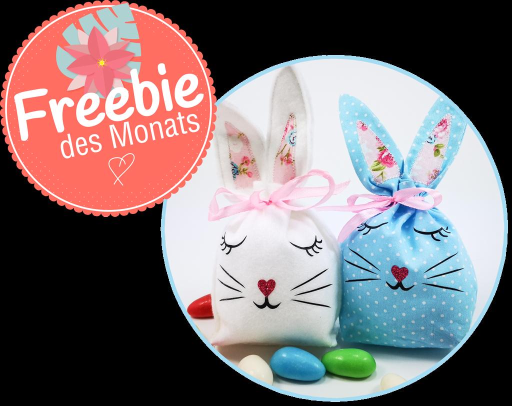 Freebie des Monats März - Häschentasche