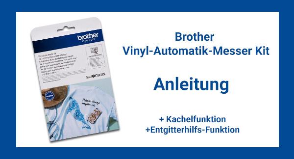 Vinyl-Automatik-Messer Kit - Anleitung