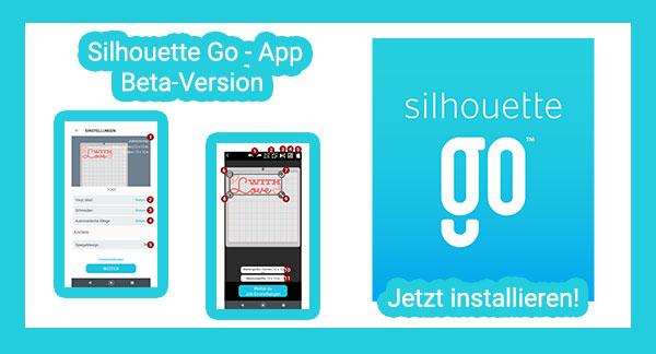 Silhouette Go App (Beta) installieren