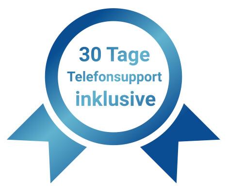 Beim Kauf eines unserer Geräten bekommen Sie 30 Tage Telefonsupport inklusive!