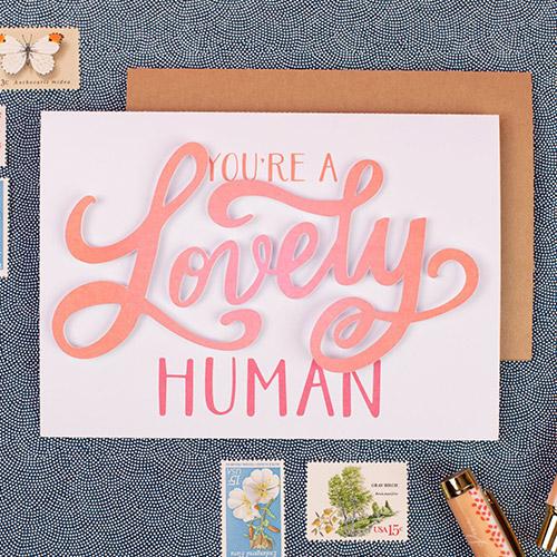Individuell wie Sie – verschenken Sie Grußkarten an Ihre Liebsten.