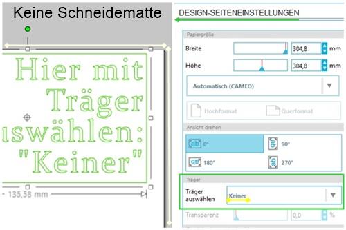 Design-Seiteneinstellungen
