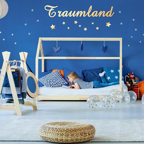 Kinderaugen zum leuchten bringen – erstellen Sie Ihre Wand Dekoration einfach selber.