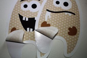 Papierträger abziehen