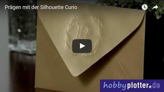 Prägen mit dem Hobbyplotter Silhouette Curio