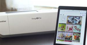 DesignNCut mit Tablett