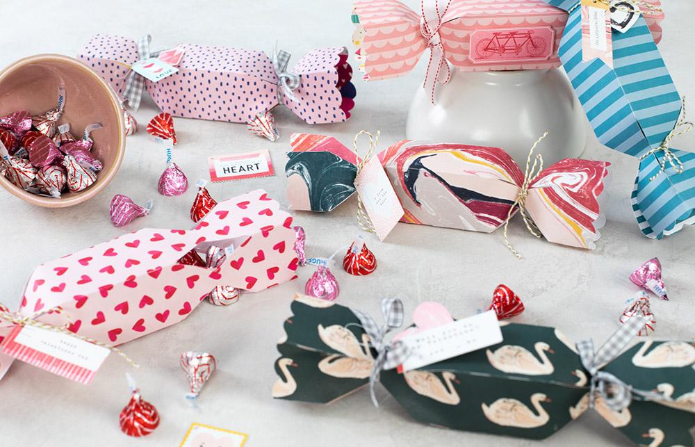 Papier, Karton und vieles mehr! So können Sie beispielsweise individuelle Geschenkverpackungen einfach und schnell erstellen.