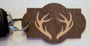 Schlüsselanhänger - Rückseite
