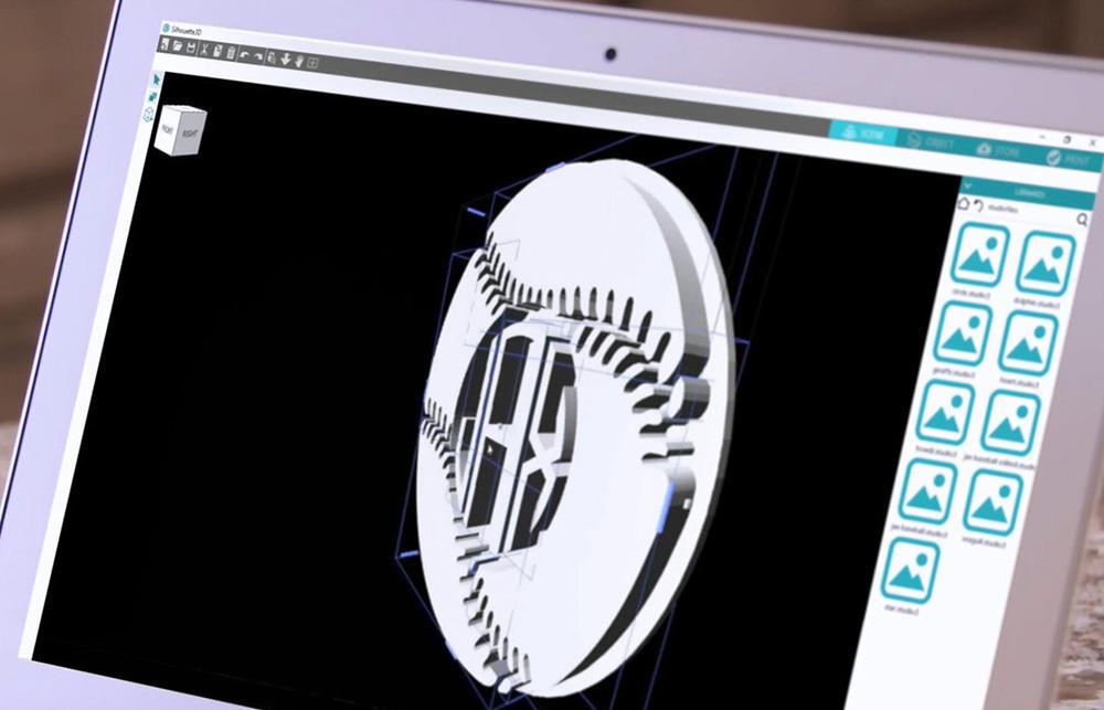 Ihre 3D Designs und Modelle können Sie selber anpassen und abändern.
