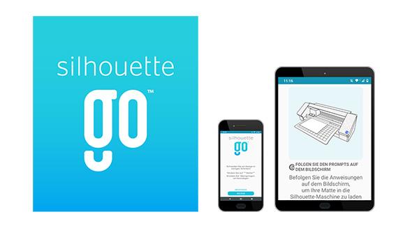 Steuern Sie Ihre Silhouette Geräte via Smartphone oder Tablet!