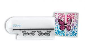 Silhouette Portrait 2 - Schmetterling plottern