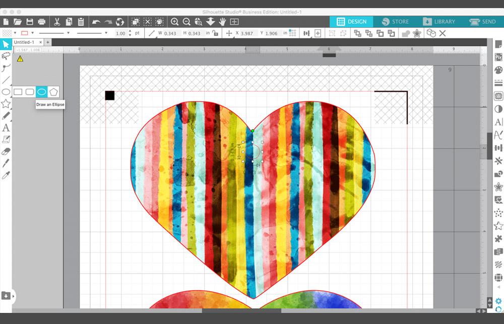 Passen Sie Ihre Designs genau an und verwenden Sie viele Funktionen. Passende Plotter Software