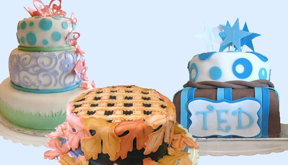 Kuchenverzierungen