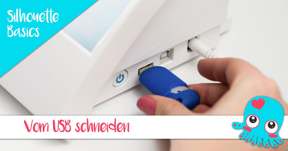 Von einem USB-Stick schneiden