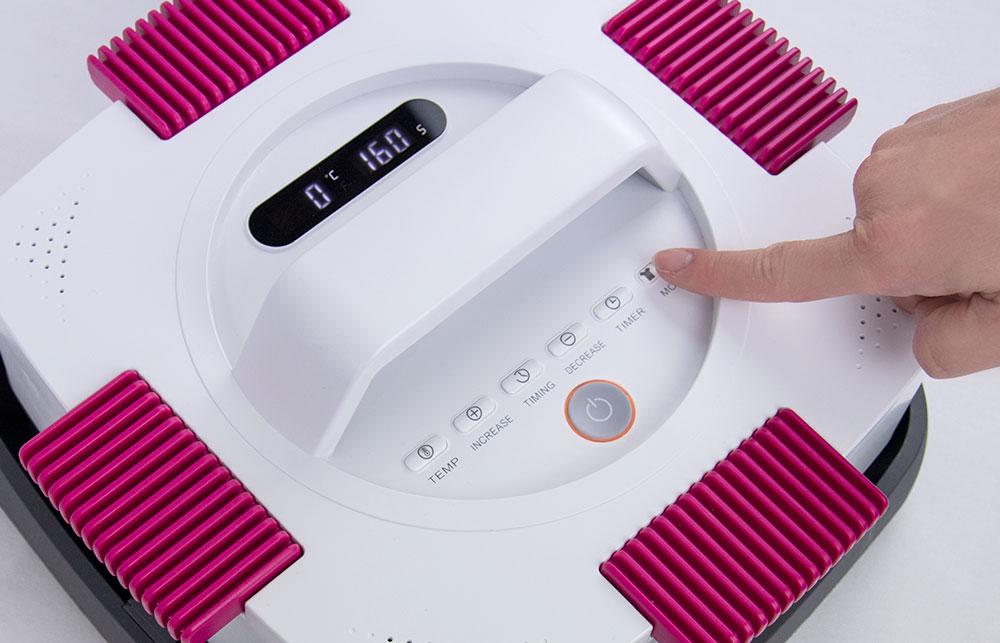 Mode-Taste zum umschalten auf die Tassenpresse