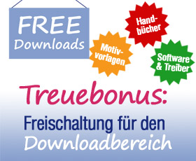 Downloadbereich für unsere Kunden