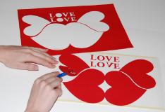 Romantische valentinskarte basteln anleitung hobbyplotter for Romantische geschenke selber machen