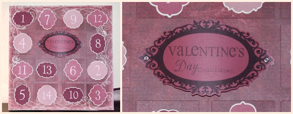 Valentinstag Countdown Kalender