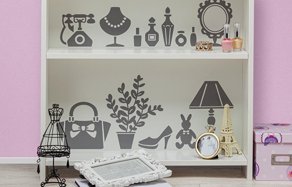 Nicht nur auf Ihren eigenen vier Wänden ein echter Hingucker. Vinylfolie kann auf verschiedenen glatten Oberflächen verwendet werden.
